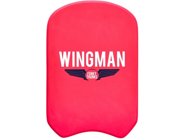 Funky Trunks Kickboard red wingman
